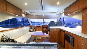 luxury cruiser interior