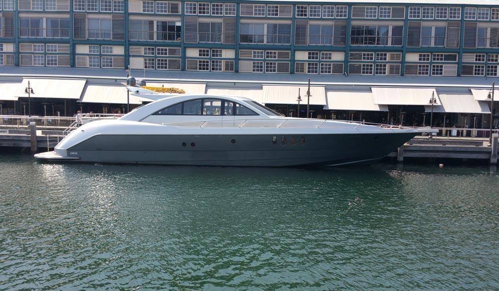 luxury boat sydney harbour