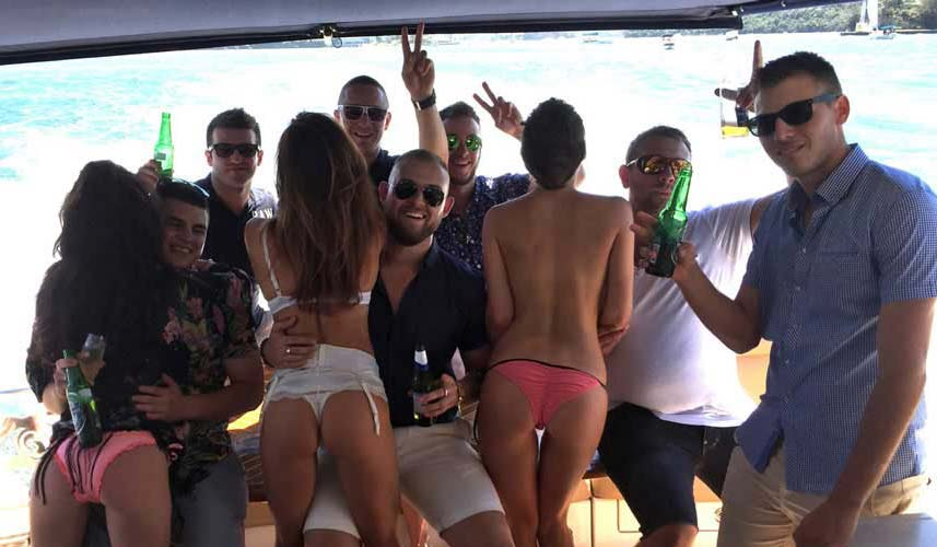 bucks party cruise sydney harbour